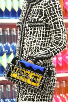 Paris Fashion Week 2014-2015: Bolsas da Chanel  The perfect shoe to match: www.dolceshoe.com