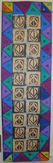 5th Grade  l  Adinkra Printmaking