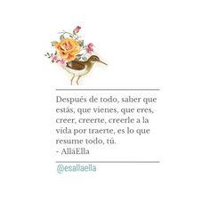 Tú, y mi domingo. #allaella