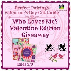 Who Loves Me? Valentine Edition Giveaway Ends 2/3 ~ Tales From A Southern Mom