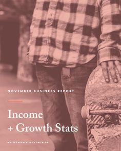 Income + Growth Stats from a Freelance Graphic Designer