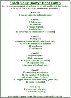 Boot Camp Style Workout workouts workouts workouts