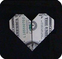 money origami- Tooth fairy idea?
