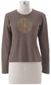 Earth Creations - Party Peace L/S Top