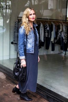 How To Wear A Denim Jacket For Spring
