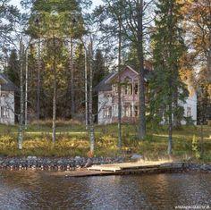 Piękne domy – projekty // fot. Carina Olander http://www.werandacountry.pl/domy/16277-nad-brzegiem-jeziora #piękne #domy #projekty #ogrody #architektura #design #sielskie #życie #country #wnętrzarski #magazyn #dom #rezydencje #mieszkania #willa #zdjęcia #home #pic  #modern #photos #project #house #development #residence #diggings #vorlage #casa #arquitectura # будинок # дизайн #projeto