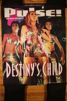 Destiny's Child / Beyonce - Rare Tower Records Promo Poster FOR SALE