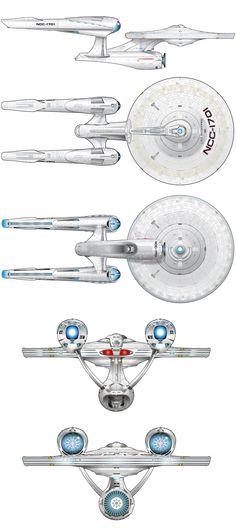 New-USS-Enterprise-Blueprints