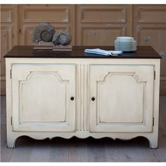 Bradshaw Kirchofer Emily Kitchen Island.  I want to recreate this but with an old sideboard. Take the back off for storage