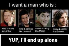 Image uploaded by Sh Shaker. Find images and videos about funny, bbc and merlin on We Heart It - the app to get lost in what you love. Merlin Funny, Merlin Memes, Merlin Quotes, Geeks, Sherlock, Bbc, Alone Life, It's Over Now, Merlin Fandom