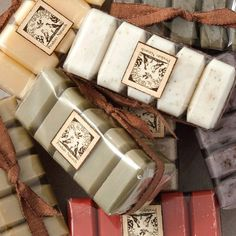 French milled soap- BEAUTIFUL
