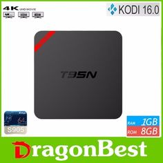 T95N MINIX MX+ Android 5.1 tv box with Amlogic S905 Quad-Core T95N 1gb 8GB rom smart tv box
