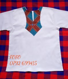 African Dresses Men, African Clothing For Men, Men Shirts, Ankara, African Fashion, Shirt Style, Projects To Try, Mens Tops, How To Wear