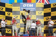 Rookie Rast rast zum DTM-Titel