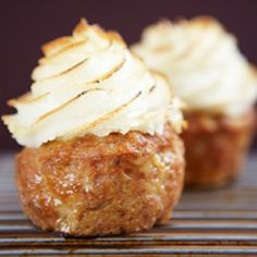 Meatloaf Cupcakes with Parmesan Mashed Potato Frosting Recipe - ZipList