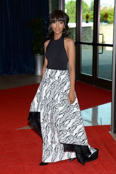 Kerry Washington knocks it out of the park again in Wes Gordon at the White House Correspondents Dinner