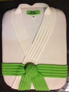 Tarta Kimono de Judo