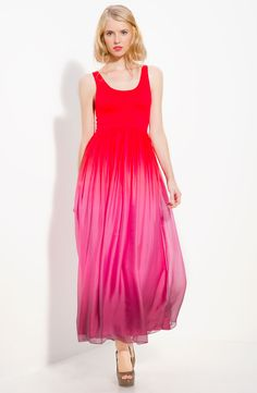 Alice and Olivia ombre maxi