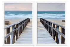 Boardwalk By William Stafford. Photo Splitting Can Add A Lot Of Dimension To A Room #homedecor #art #photography