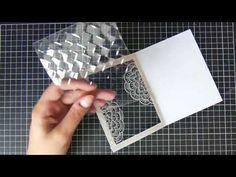 Creating an acetate window card Fun Fold Cards, Folded Cards, Diy Cards, Handmade Birthday Cards, Greeting Cards Handmade, Acetate Cards, Mini Albums, Clear Card, Window Cards