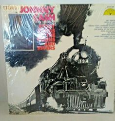 "JOHNNY CASH 1969 Story Songs of the Trains and Rivers 12"" Sun 104 LP Excellent"
