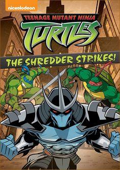 The Shredder's first attempt against the Ninja Turtles. Teenage Ninja, Teenage Mutant Ninja Turtles, Shredder Tmnt, Cartoon, Games, Tv, Illustration, Anime, Poster