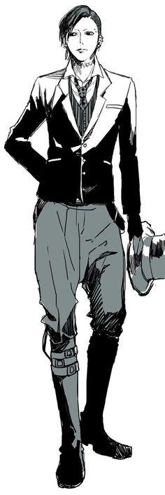 Uta ~Bigger trash than Tsukiyama -_- <---  NOBODY call Uta like THAT even if... and... Just  stop already. (¬_¬;)
