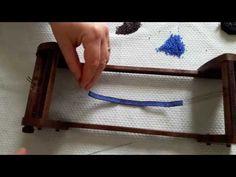 Comment finir un bracelet tissé en Miyuki (4/5) - YouTube