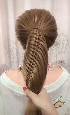 Best braid tutorial compilation - in 2020 Cute Hairstyles, Braided Hairstyles, Braided Updo, Braids For Long Hair, Curly Hair, Hair Videos, Hair Designs, Hair Hacks, Hair Inspiration