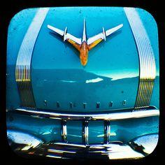 1955 Pontiac    ~ Blue