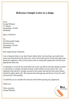 Free Character Reference Letter To Judge with Writing Tips & Examples are given here in this website in PDF & Word [Editable Doc. Formal Letter Writing Format, A Formal Letter, Character Witness Letter, Character Letters, Simple Cover Letter Template, Letter Templates, Character Reference Letter Template, Letter To Judge, T Shirt Design Template