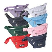 Wish | Everest 044KD-NY 11.5 in. Wide Everest Signature Fanny Pack