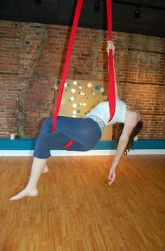 Aerial Sling (Aerial Hammock) Moves!  The Faint