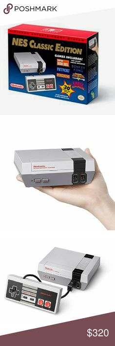 BNIB NINTENDO NES MINI BNIB NINTENDO NES MINI... Never opened, comes with an extra NES controller and including a surprise gift guaranteed you will love Nintendo Other