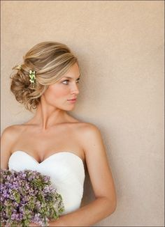 50 Elegant Wedding Updos For Long Hair and Short Hair