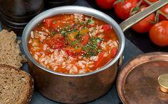 Tomātu zupa ar rīsiem - DELFI Receptes