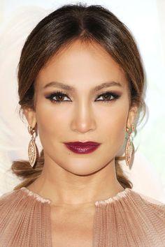 Lady is a Vamp: Best Dark Lips of 2012 - Jennifer Lopez