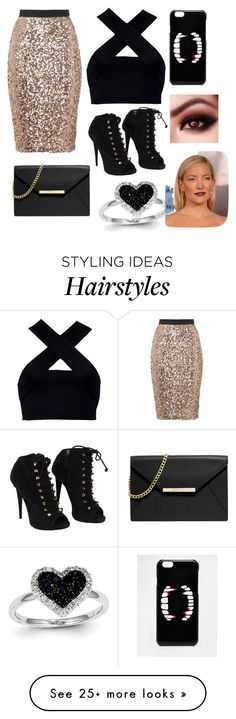 """Night Out"" by tazille on Polyvore featuring French Connection, Motel, Giuseppe Zanotti, MICHAEL Michael Kors, ASOS and Kevin Jewelers"