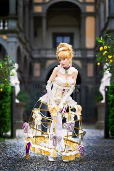 Chou a la Creme Cosplay Cute Cosplay, Best Cosplay, Cosplay Girls, Cosplay Costumes, Rococo Fashion, Lolita Fashion, Queen Outfit, Fantasy Dress, Petticoats