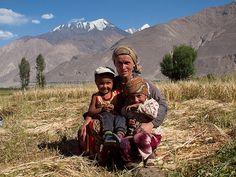 Farming Family . Tajikistan