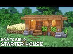 Minecraft Cabin, Minecraft Mountain House, Minecraft Redstone, Cute Minecraft Houses, Minecraft Plans, Minecraft Survival, Amazing Minecraft, Minecraft Tutorial, Minecraft Blueprints