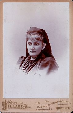 Mrs. Dickson in Mourning, Albumen Cabinet Card, Circa 1892 | Flickr - Photo Sharing!