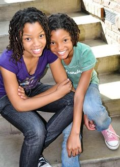 Little girl's locs.  Will post their names when I remember.  *Remembered! Chloe and Halle http://www.chloeandhalle.com