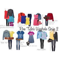 """Rose Tyler's Wardrobe Series 2"" by siriuslyhp211 on Polyvore"