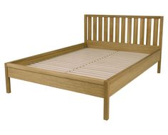 Brompton Oak Bed Frame King Laura Ashley on sale for could paint it colour of walls - rock salt Oak Bed Frame, King Bed Frame, Retro Bed, Tv Beds, Leather Bed, Sleigh Beds, Beds For Sale, Brompton, Childrens Room Decor