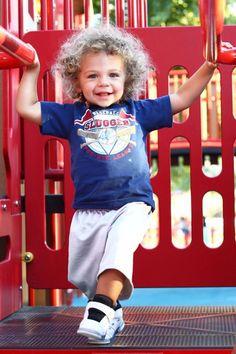 baby hank baskett jr. the cutest kid on TV right now.