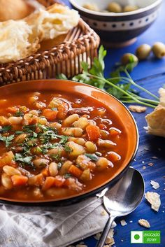 Bean Soup (called Fasolada in Greek), is one of the most popular traditional dishes in Greek cuisine. It has also been named as the national food of Greece. All the ingredients are very nutritious and...