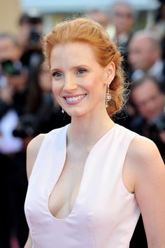 Jessica Chastain hot | Jessica Chastain - Opening Ceremony & ''Moonrise Kingdom'' Premiere ...