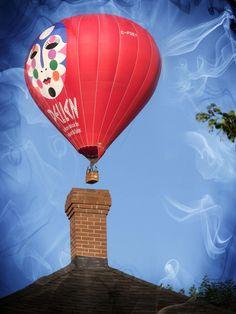 Pellan et la cheminée magique... Alfred Pellan, Clarence Gagnon, Hot Air Balloon, Painters, Illustration, Balloons, Canadian Art, Magic, Globes