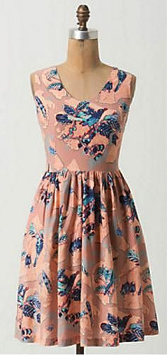 Bridal Shower Attire: Anthropologie Macquarie Dress